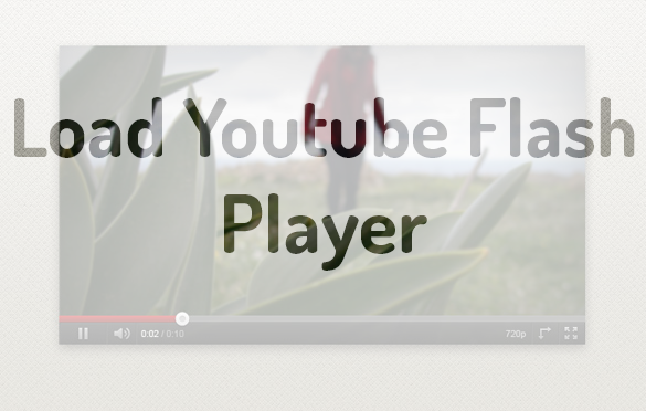 disable youtube html5 player