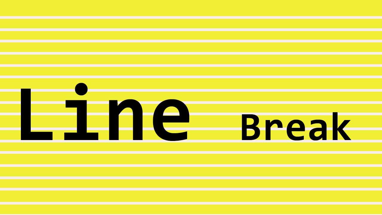 line-break