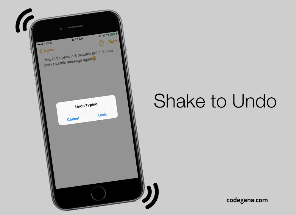 shake-to-undo